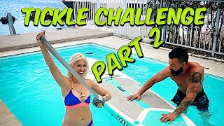Tickle Challenge Part 2, with a twist!! 500$$
