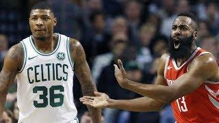 Rockets Blew 26 Point Lead vs Celtics! Horford Game Winner! 2017-18 Season