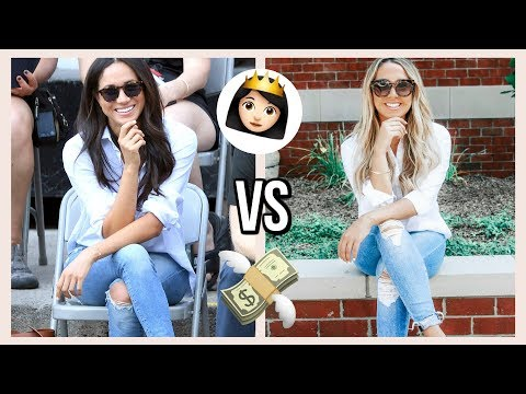 COPYING MEGHAN MARKLES OUTFITS FOR LESS!