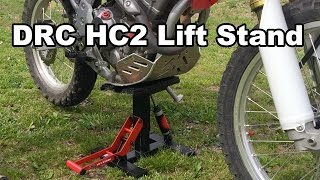 DRC HC2 Lift Stand Review - Back Saver For Dual Sport Riders Honda CRF250L