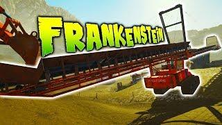 Gold Rush - Largest Gold Mining Equipment - NEW MINE SITE - Frankenstein DLC - Gold Rush The Game