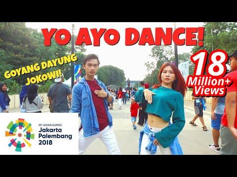 Xxx Mp4 VIA VALLEN MERAIH BINTANG DANCE IN PUBLIC ASIAN GAMES 2018 OFFICIAL SONG Choreo By Natya Shina 3gp Sex