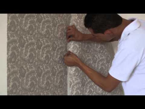 Como instalar o tecido de parede Passo a Passo