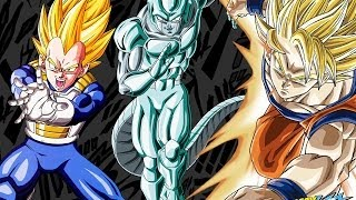 Goku & Vegeta vs Metal Cooler