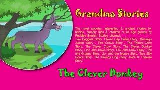 Clever Donkey   Grandma Stories   Dadima Ki Kahaniya   Popular Hindi Stories for Kids