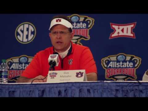 Post Game Auburn Sugar Bowl Press Conference