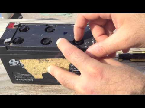 Sealed Lead Acid Battery Recovery