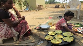 Cooking Puran Poli Recipe in my village | Obattu Recipe | VILLAGE FOOD