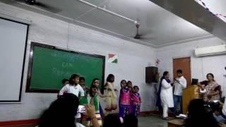 Sardar high school cham cham dance