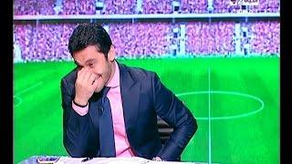 ستوديو الحياة - لقطة كوميدية على الهوا الإنجليزي لميدو يبهر سيف زاهر .. وضحك هيستيري لأحمد حسن