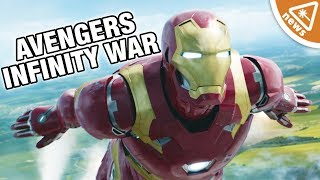 Iron Man's New Avengers Infinity War Armor Breakdown! (Nerdist News w/ Dan Casey)