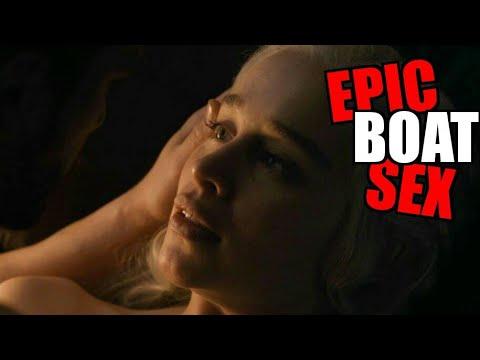 Xxx Mp4 Boat Sex Daenerys Sex Scene With Jon Snow Game Of Thrones Emilia And Kit 3gp Sex