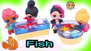 School Field Trip To Aquarium - LOL Surprise Dolls Cookie Swirl Toy Video
