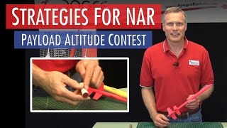 Strategies For NAR Payload Altitude Contest