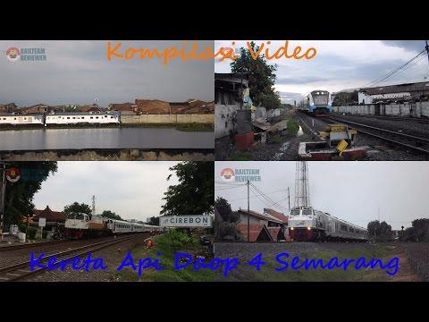 Kompilasi Kereta Api Daop 4 Semarang