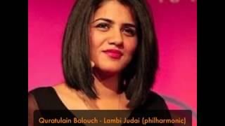Quratulain Balouch   Lambi Judai HQ Audio