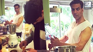 Akshay Kumar Turns Into A Chef For Wife Twinkle Khanna | Inside Pictures | LehrenTV