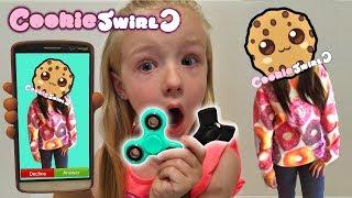 Calling CookieSwirlC *OMG* She Answered & FIDGET SPINNER GIVEAWAY Cookie Swirl C