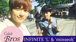 INFINITE L & Minseok, Celeb Bros S6 EP2