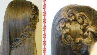 Special Hairstyle for Pooja ,  Beautiful Hairstyles Compilation  পূজার স্পেসাল চুলের স্টাইল