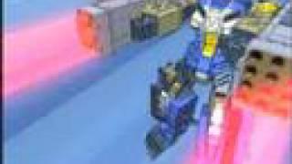 Transformers Cybertron Galvatron & Menasor vs Defence Team