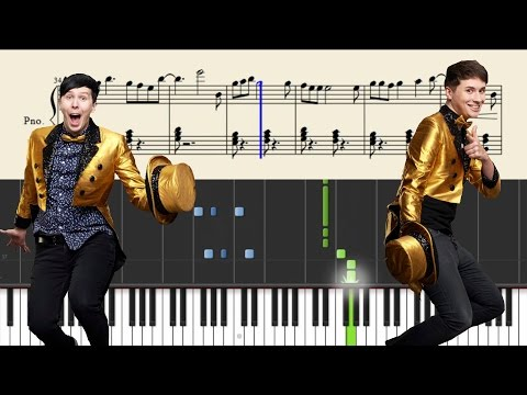 Download Dan and Phil - The Internet Is Here - Piano Tutorial