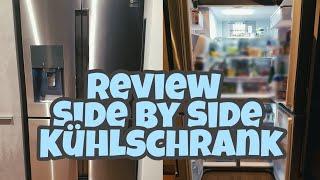Side By Side Kühlschrank Wasserschlauch Verlegen : Samsung rs fhcsl side by side kühlschrank montage optik