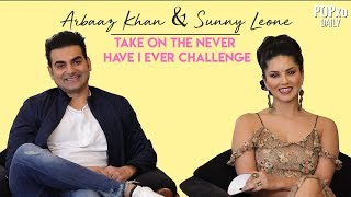 Sunny Leone & Arbaaz Khan Take On The Never Have I Ever Challenge - POPxo