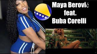 REACTING TO Maya Berović feat. Buba Corelli - Pravo vreme (Official Video) | Ashley Deshaun