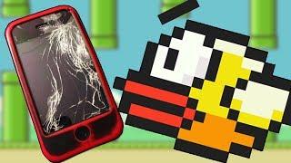 I BROKE MY PHONE PLAYING FLAPPY BIRD (Flappy Bird)