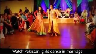 pakistani girls dance in marriage top 1