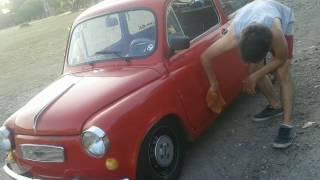 Fiat 600 al piso