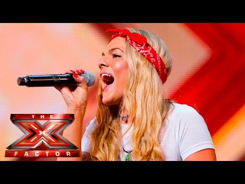 Xxx Mp4 Soul Singer Louisa Johnson Covers Who's Loving You Auditions Week 1 The X Factor UK 2015 3gp Sex