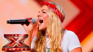 Soul singer Louisa Johnson covers Who's Loving You | Auditions Week 1 | The X Factor UK 2015