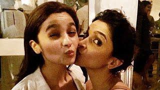Deepika Padukone & Alia Bhatt Funny SELFIE