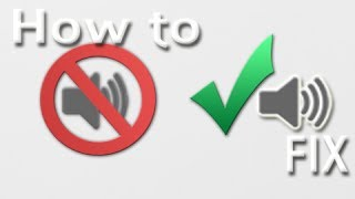 How To Fix Common Audio Problems For Your WINDOWS Computer