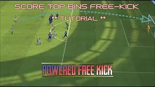 The KNUCKLE FREEKICK • Second Most Effective Free - Kick | Tutorial