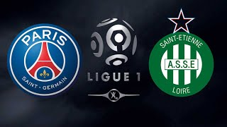 FIFA 18 PSG VS SAINT ETIENNE LIGUE 1
