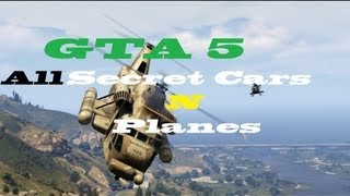 GTA 5 How To Find All Secret Cars And Planes