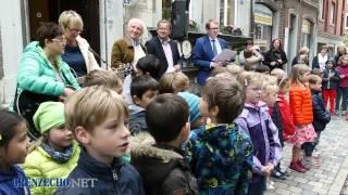 """Kinderkartenkinder der SGO singen """"Eupen-Song"""""""