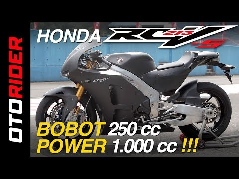 Honda RC213V-S First Ride Review Indonesia | OtoRider