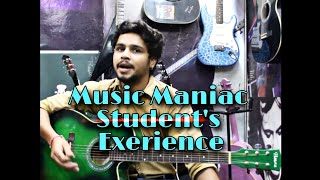 What Does  Music Maniac Student Has To Say.. A Professional C.A.