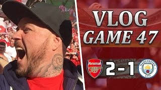 Man City 1 v 2 Arsenal | So Proud Of The Team Today | Matchday Vlog | Game 47