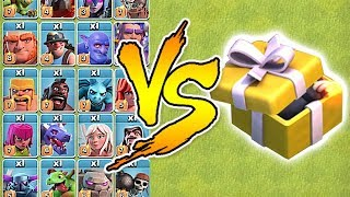 BIRTHDAY BOOM SPELL Vs. ALL TROOPS!!! | Clash of clans | Troll attacks!