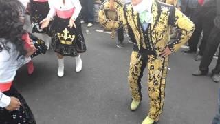 Bailando y gozando banda Super tierra cierre de carnaval san lorenzo tezonco 2016