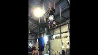 Backup rise press to handstand