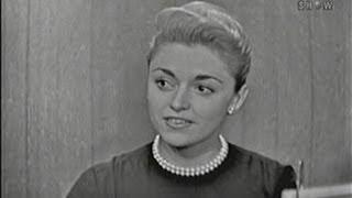 What's My Line? - Anna Maria Alberghetti; Victor Borge [panel] (Nov 23, 1958)