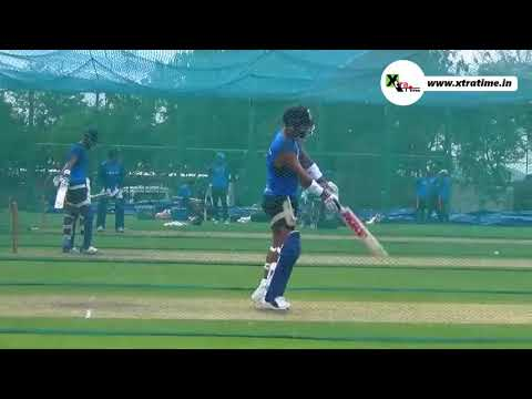 Virat Kohli Net Practice with Pure Technique for south Africa