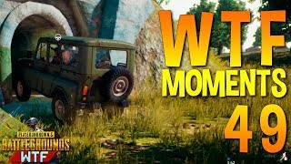 PUBG WTF Funny Moments Highlights Ep 49 (playerunknown's battlegrounds Plays)