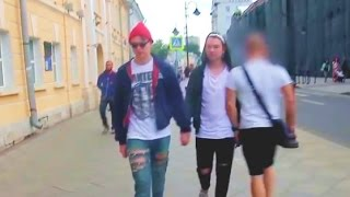 Gay in Russia Gone Wrong! (Social Experiment)